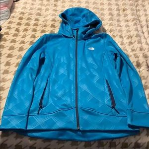 Ladies North Face Zip Up Size XL